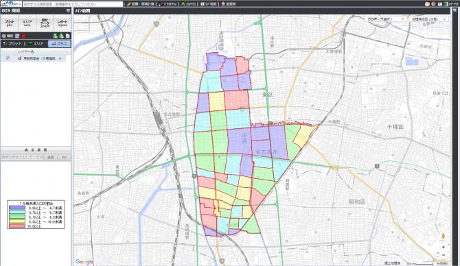 出典:jSTAT MAP ,国土地理院