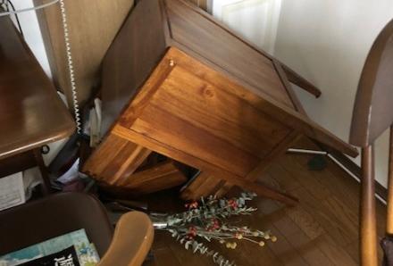 「大阪北部地震」に遭遇して・・・